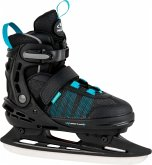 HUDORA 45250 - Allround Schlittschuh, Comfort Eislaufschuhe Ice Skates, black, 29-34