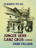 Junger Herr - ganz groß (German) (eBook, ePUB)