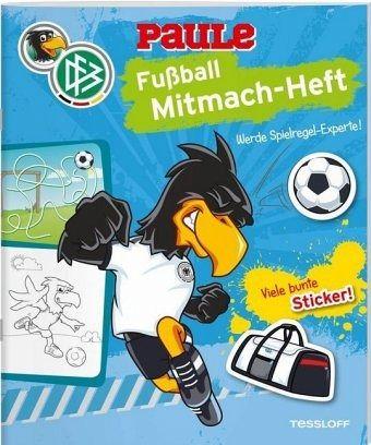 Dfb Paule Fußball Mitmach Heft Spielregeln Mängelexemplar