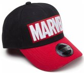 Baseball Cap, Marvel-Red Brick Logo, Kappe, One Size, schwarz/rot