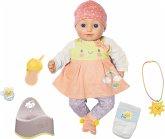 Zapf Creation 960202 - Elli Smiles, Puppe mit Sound und Bewegung