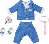 Zapf Creation® 826874 - BABY born® Boutique Deluxe Bräutigam, 43cm, Puppenbekleidung, Anzug