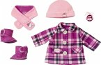 Zapf Creation® 702864 - Baby Annabell Deluxe Mantelset 43cm, Puppenkleidung Set, 5-teilig