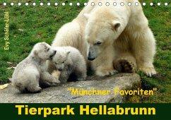 Tierpark Hellabrunn - Münchner Favoriten (Tischkalender 2020 DIN A5 quer)