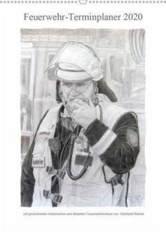 Feuerwehr-Terminplaner (Wandkalender 2020 DIN A2 hoch)