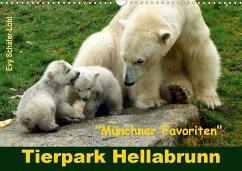 Tierpark Hellabrunn - Münchner Favoriten (Wandkalender 2020 DIN A3 quer)