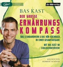 Der große Ernährungskompass, 2 MP3-CDs - Kast, Bas