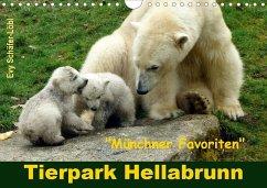 Tierpark Hellabrunn - Münchner Favoriten (Wandkalender 2020 DIN A4 quer)