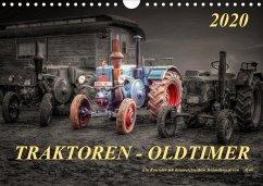 Traktoren - OldtimerAT-Version (Wandkalender 2020 DIN A4 quer)