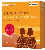 Die Neapolitanische Saga / Neapolitanische Saga Bd.1-4 (7 Audio-CDs MP3)