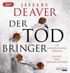 Der Todbringer / Lincoln Rhyme Bd.14 (2 MP3-CDs) - Deaver, Jeffery
