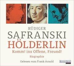 Hölderlin, 8 Audio-CDs - Safranski, Rüdiger