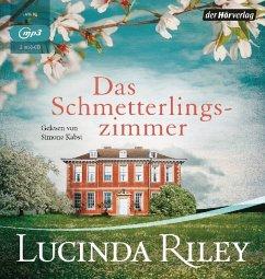 Das Schmetterlingszimmer, 2 MP3-CD - Riley, Lucinda