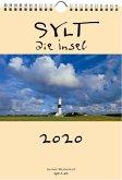 Sylt - die Insel 2020 A4 Wandkalender Hochformat