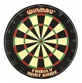 Carromco 83260 - Winmau Family Dart Game, Dartscheibe mit 6 Steeldarts