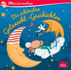 Ohrwürmchen. Die schönsten Gutenacht-Geschichten, 1 Audio-CD - Arold, Marliese;Gieseler, Corinna;Maar, Paul