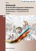 Mathematik für das BG in Niedersachsen, Kerncurriculum und Bildungsstandards. Qualifikationsphase - Schwerpunkt Wirtschaft - Analysis
