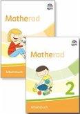 Matherad 1/2. Arbeitsbuch (Paket) Klasse 1/2