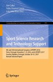 Sport Science Research and Technology Support (eBook, PDF)
