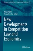 New Developments in Competition Law and Economics (eBook, PDF)