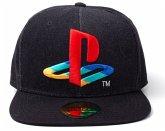 Baseball Cap, Sony PlayStation Logo, Snapback Cap, Kappe, One Size, schwarz
