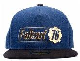 Baseball Cap, FALLOUT 76-Logo Badge, Snapback Cap, Kappe, One Size