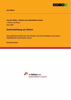 Einheitsbildung als Fiktion (eBook, PDF)