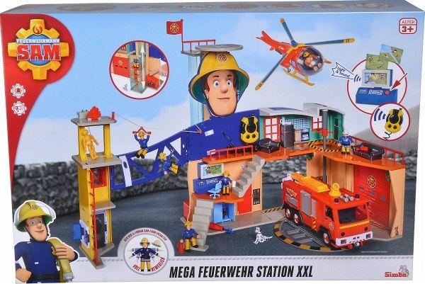 simba 109251059  feuerwehrmann sam mega feuerwehrstation