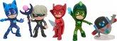 Simba 109402364 - PJ Masks Supermoon Adventure Sammler Figurenset, 5 Figuren