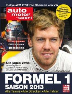 Formel 1 - Saison 2013 (Mängelexemplar) - Schmidt, Michael
