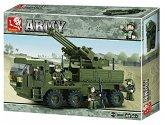 Sluban ARMY M38-B0302 - Mobile Flak - Flugabwehrgeschütz-Wagen, 306 Teile