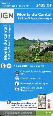 2435OT Monts du Cantal.PNR des Volcans d'Auvergne
