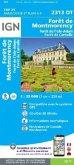 IGN Karte, Serie Bleue Top 25 Forêts de Montmorency de l'Isle-Adam et de Carnelle