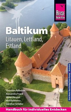 Reise Know-How Reiseführer Baltikum: Litauen, Lettland, Estland - Schäfer, Günther