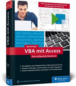 VBA mit Access - Held, Bernd