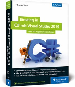Einstieg in C# mit Visual Studio 2019 - Theis, Thomas