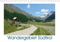 Wandergebiet Südtirol (Wandkalender 2020 DIN A4 quer)
