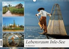 Lebensraum Inle-See in Myanmar (Wandkalender 2020 DIN A3 quer)