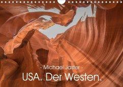 - Michael Jaster - USA. Der Westen. (Wandkalender 2020 DIN A4 quer)
