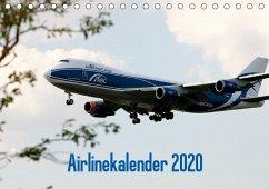 Airlinekalender 2020 (Tischkalender 2020 DIN A5 quer)