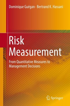 Risk Measurement (eBook, PDF) - Hassani, Bertrand K.; Guégan, Dominique