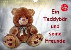 Ein Teddybär und seine Freunde (Wandkalender 2020 DIN A4 quer)