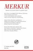MERKUR Gegründet 1947 als Deutsche Zeitschrift für europäisches Denken - 2019-4 (eBook, ePUB)