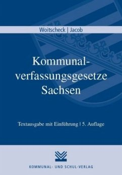 Kommunalverfassungsgesetze Sachsen
