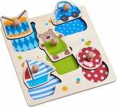HABA 304608 - Greifpuzzle Spielsachen, Holzpuzzle, 5 Teile
