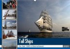 Analoge Fotografie Tall Ships Sail 1995 Bremerhaven (Wandkalender 2020 DIN A2 quer)