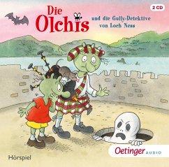 Die Olchis und die Gully-Detektive von Loch Ness / Die Olchis-Kinderroman Bd.12 (2 Audio-CDs) - Dietl, Erhard