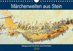 Märchenwelten aus Stein - Manganoxid-Dendriten aus Solnhofen (Wandkalender 2020 DIN A4 quer)
