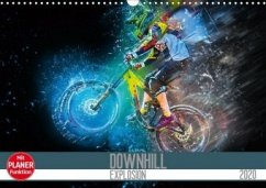 Downhill Explosion (Wandkalender 2020 DIN A3 quer)