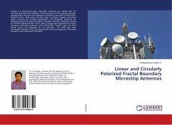 Linear and Circularly Polarized Fractal Boundary Microstrip Antennas
